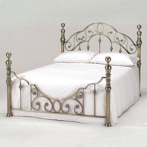 Кровать металлическая TetChair VICTORIA 160x200, цвет античная медь стул компьютерный tetchair step