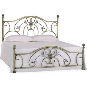 Кровать металлическая TetChair ELIZABETH 140x200, цвет античная медь кровать металлическая tetchair charlotte 160x200 цвет античная медь