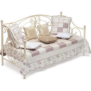 Кровать металлическая TetChair JANE 90x200, цвет античный белый кровать tetchair at 8077 120x200
