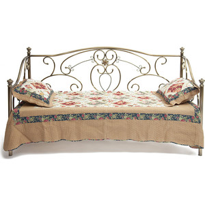 Кровать металлическая TetChair JANE 90x200, цвет античная медь кровать металлическая tetchair charlotte 160x200 цвет античная медь