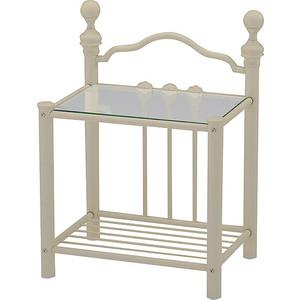 Тумба прикроватная TetChair DERBY, цвет античный белый tetchair обеденный стол tetchair эмир ст 3760р leg d античный белый темный дуб