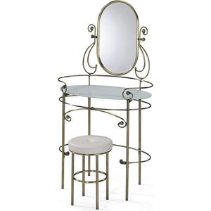 Столик туалетный TetChair ALBERT, цвет античная медь кровать металлическая tetchair charlotte 160x200 цвет античная медь
