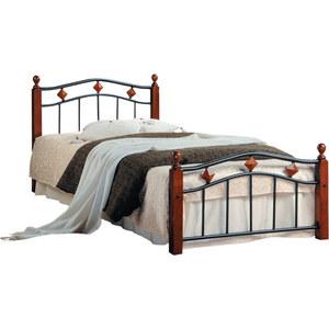 Кровать TetChair AT-126 90x200 tetchair кровать tetchair at 126 queen 1600 х 2030 гевея металл без матраса