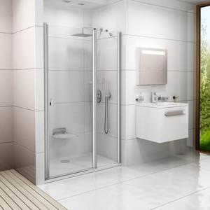 Душевая дверь Ravak CSD2-100 Transparent, профиль белый (0QVAC100Z1)