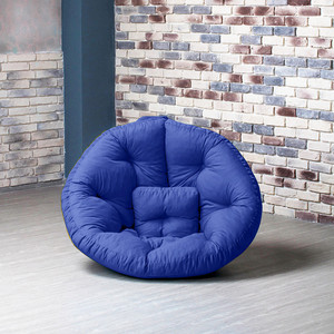 Кресло Gliver Оустер - бостон XL василек