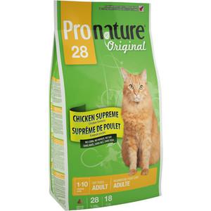 Сухой корм Pronature Original 28 Adult Cat Chicken Supreme Chicken Formula c курицей для кошек 20кг (102.412)(OC-2)