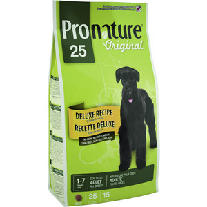Сухой корм Pronature Original 25 Adult Dog Classic Recipe Chicken Formula с курицей для собак всех пород 15кг (102.519) сухой корм pronature holistic adult cat skin
