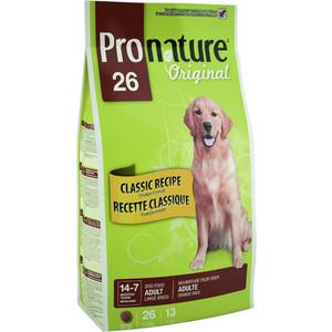 все цены на  Сухой корм Pronature Original 26 Adult Dog Large Classic Recipe Chicken Formula с курицей для собак крупных пород 7кг (102.535)  онлайн