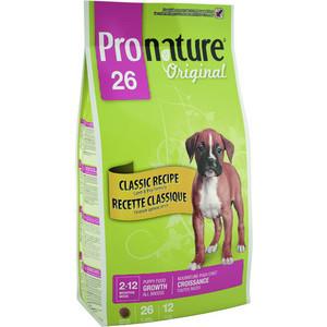 Сухой корм Pronature Original 26 Puppy Growth Classic Recipe Lamb & Rice Formula с ягненком и рисом для щенков всех пород 2,72кг (102.551)