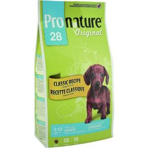Сухой корм Pronature Original 28 Puppy Growth Small & Medium Classic Recipe Chicken с курицей для щенков мелких и средних пород 2,72кг (102.566)