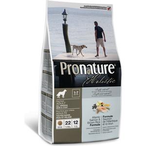 Сухой корм Pronature Holistic Adult Dog Skin&Coat Atlantic Salmon & Brown Rice с лососем и рисом для кожи и шерсти для собак 2,72кг (102.2006) сухой корм pronature holistic adult cat skin