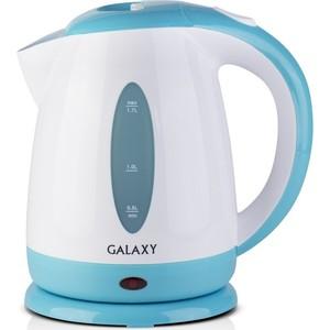 Чайник электрический GALAXY GL0221, голубой владимир юрьевич шишмарев электрорадиоизмерения 3 е изд испр и доп учебник для спо