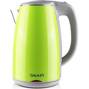 Чайник электрический GALAXY GL0307, зеленый чайник galaxy gl0307 зеленый