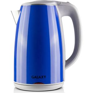 Чайник электрический GALAXY GL0307, синий чайник galaxy gl0307 зеленый