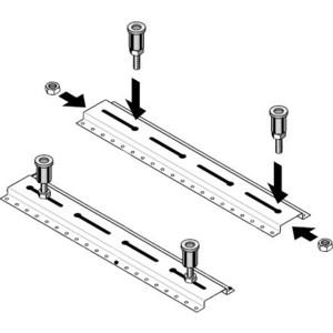 Ножки для душевого поддона Laufen (2.9555.7.000.000.1)