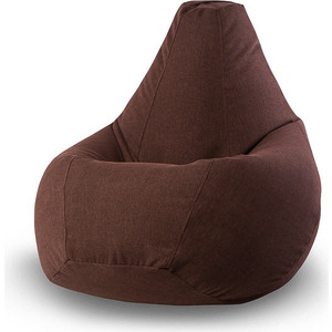 Кресло-мешок POOFF Коричневое микровельвет XL кресло мешок pooff подушка синий