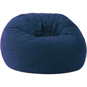 Кресло-мешок POOFF Шар микро-вельвет синий кресло мешок pooff подушка синий