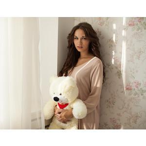цены Плюшевый медведь Мишка Тихон 60 см белый (Т 00004)
