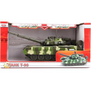 Машина Технопарк Танк T-90, свет+звук, вращается башня (ct12-435-1-2)