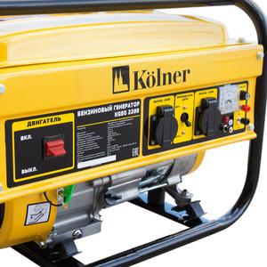 все цены на Генератор бензиновый Kolner KGEG 2200 онлайн