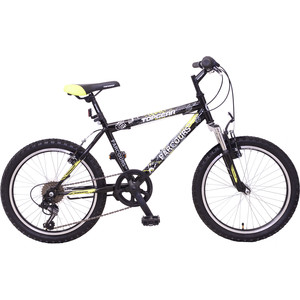 Top Gear Велосипед 20 Parcours 210, 6 скоростей черный/желтый, (ВН20149) top gear велосипед 24 mystic 210 18 скоростей черный вн24087