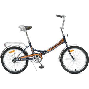 Top Gear Велосипед складной 20 Compact 50, черный/оранжевый (ВНС2083)