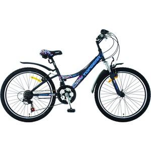 Top Gear Велосипед 24 Mystic 210, 18 скоростей, черный (ВН24087)