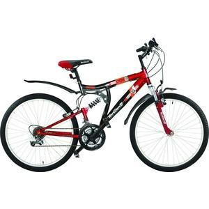 Top Gear Велосипед 26 Storm 120, 18 скоростей, черный/красный (ВН26217) блесна daiwa crusader 5 sbl