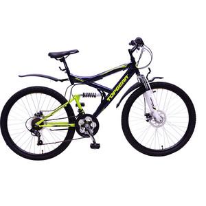 Top Gear Велосипед 26 4REST 225, 18 скоростей, черный/зеленый/белый (ВН26428) rivertoys велосипед электромотоцикл 2в1 o777oo белый зеленый красный оранжевый синий