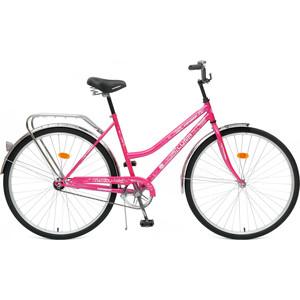 Top Gear Велосипед 28 Luna 50, 1 скорость, розовый/белый, звонок (ВН28014)