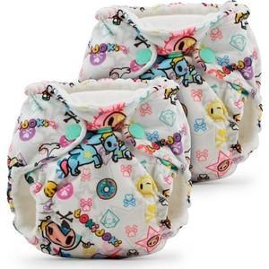 Многоразовые подгузники для новорожденных 2 шт. Kanga Care tokiBambino (646437266574) pigeon 10317 15122 ножницы для ногтей новорожденных ножницы для новорожденных 1 шт