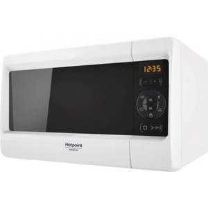 Микроволновая печь Hotpoint-Ariston MWHA 2421 MW печь свч hotpoint ariston mwha 2011 mw1 соло 20л мех бел черн