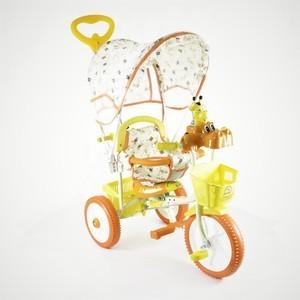 Jaguar Трехколесный велосипед (MS-0737) оранжевый трехколесный велосипед pilsan ducky с родительской ручкой цвет зелено оранжевый 07 141