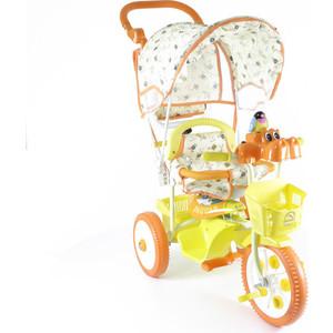 Jaguar Трехколесный велосипед (MS-0737K) оранжевый трехколесный велосипед pilsan ducky с родительской ручкой цвет зелено оранжевый 07 141
