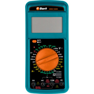 Мультиметр Bort BMM-1000N мультиметр bort bmm 800 [91271150]