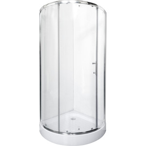 Душевой уголок Rush Devon 81,7x81,7 см профиль хром, стекло прозрачное (DE-R18080) декор decocer devon decor mustard bone 7 5x15