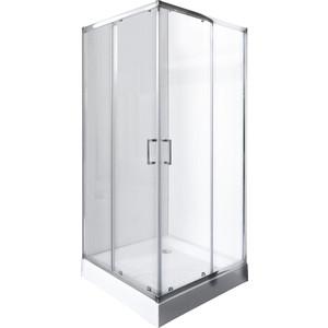 Душевой уголок Rush Victoria 90x90 см профиль хром, стекло прозрачное (VI-S29090)