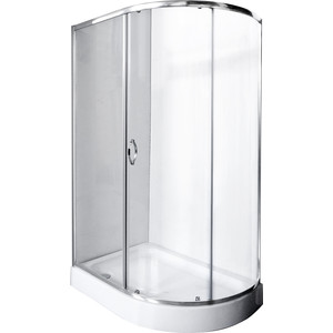Душевой уголок Rush Fiji 120x80 см профиль хром, стекло прозрачное (FI-A180120-L) душевой поддон aquanet fiji new 174209 белый