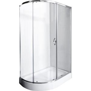 Душевой уголок Rush Fiji 120x80 см профиль хром, стекло прозрачное (FI-A180120-R) душевой поддон aquanet fiji new 174209 белый