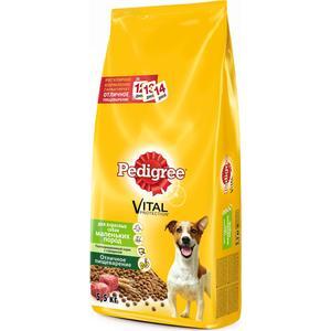 Сухой корм Pedigree Vital Protection с говядиной для собак мелких пород 5,5кг (10132027)