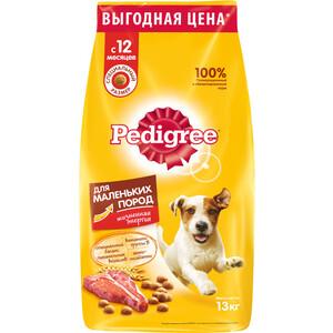 Сухой корм Pedigree Vital Protection с говядиной для собак мелких пород 13кг (10113865)