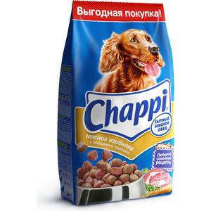 Сухой корм Chappi Сытный обед мясное изобилие с овощами и травами для собак 15кг (YY080)
