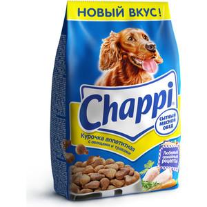 Фото - Сухой корм Chappi Сытный обед с аппетитной курочкой, овощами и травами для собак 15кг (YY082) trixie стойка с мисками trixie для собак 2х1 8 л