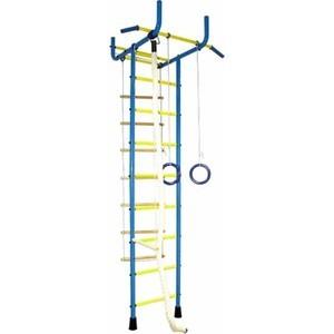 Детский спортивный комплекс Absolute Champion 4 широкий хват желто-голубой