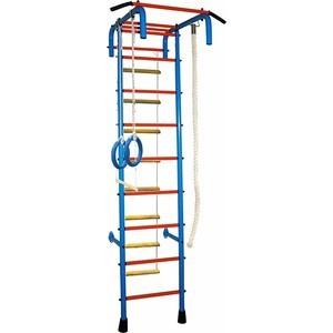 Детский спортивный комплекс Absolute Champion 4 широкий хват синий/красный