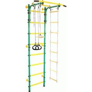 Детский спортивный комплекс Midzumi Banji Kabe зеленый/желтый