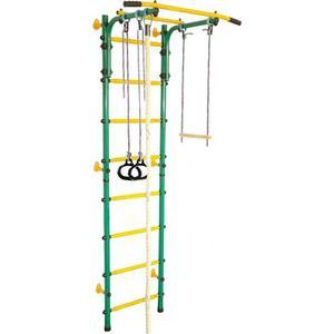 Детский спортивный комплекс Midzumi Hoshi Kabe зеленый/желтый