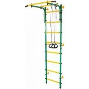 Детский спортивный комплекс Midzumi Ringu Kabe зеленый/желтый