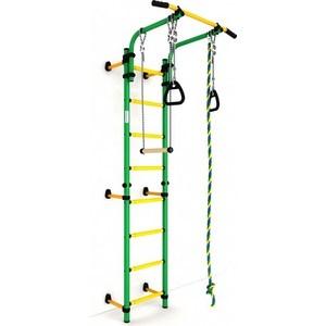 Детский спортивный комплекс Romana Комета next 1 ДСКМ-2С-8.06.Г1.410.01-24 обливные зелёно/жёлтый