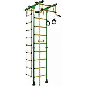 Детский спортивный комплекс Romana Комета-1 ДСКМ-2-8.06.Т.490.01-108 обливные зелёно/жёлтый